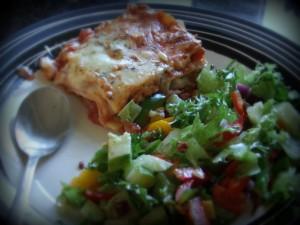 Lasagne med fullkornspasta