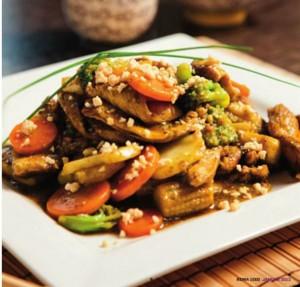 Orientalsk Currywok med kylling